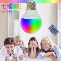 七彩同步RGB变色 球泡GY0005