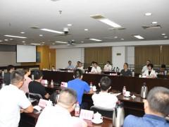 深圳市照明与显示工程行业协会与12家投资意向企业到我镇实地考察