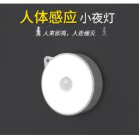 人体智能感应小夜灯光控LED锂电池磁吸过道衣橱灯自动开灯ZY0015