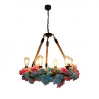 工业风餐吊灯创意火锅店酒吧主题餐厅绿植吊灯个性西餐厅艺术吊灯RZ0017