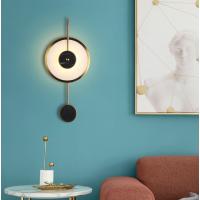 北欧后现代云石壁灯现代简约卧室客厅玄关书房背景JJ0284