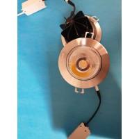 12瓦天花灯,开孔110mm,光源cob,带玻璃片