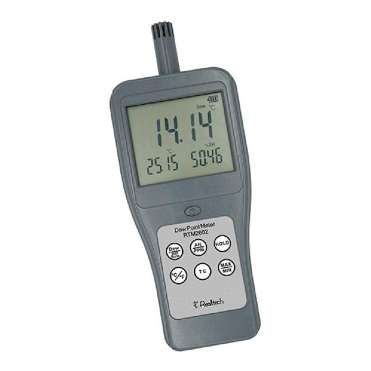 RTM2602便携高分辨率数显工业测温表湿球温度表红外温度计